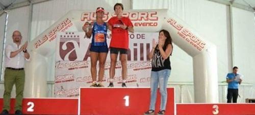 Nuevo podio de Carolina Álvarez para el Atletismo Sexitano