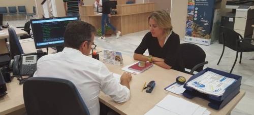 Presentación de la moción del PSOE de Almuñécar contra la violencia de género