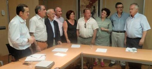Reunión entre PSOE y Comunidades de Regantes