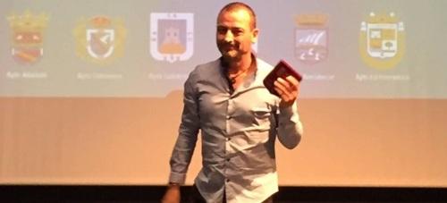 Salobreña felicita al nadador Hipólito Martín, mención especial al mérito deportivo