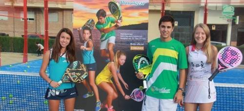 Tres jugadores sexitanos comienzan con victoria el Campeonato de España de Pádel de Menores