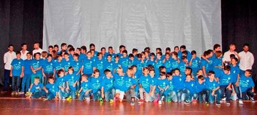 AD Almuñécar 77 contará con cinco equipos federados en el fútbol base granadino