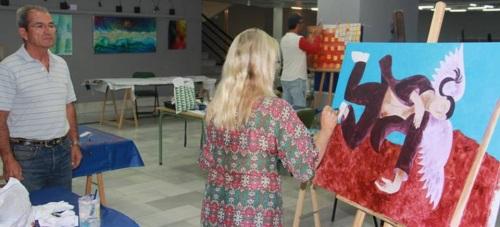Almuñécar celebra esta semana el IV Encuentro Internacional de Artistas Plásticos 2015