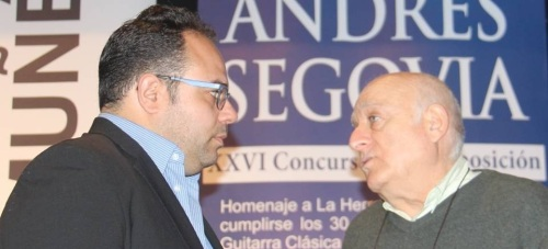 Antonio Martín Moreno y Juan José Ruiz Joya