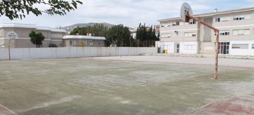 El Ayto. de Salobreña no construirá una parada provisional en las pistas en desuso del IES Mediterráneo