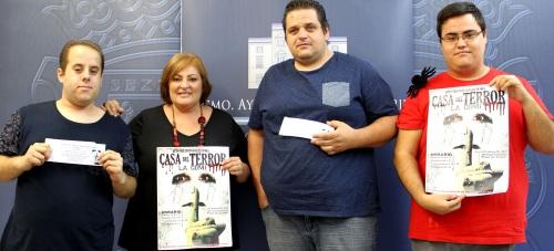 El barrio de Varadero se viste de 'Halloween' gracias a la 'III Edición de la Casa del Terror'