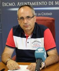 El concejal David Martín
