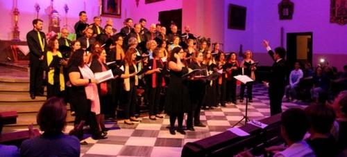 El Coro de la Facultad de Ciencias de la UGR ofreció un gran concierto en Almuñécar
