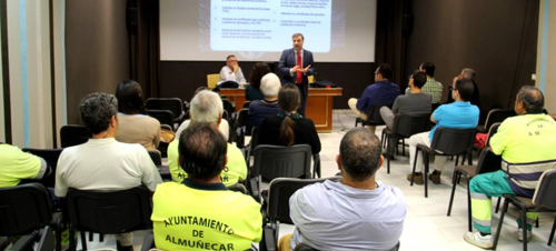 El Director Provincial de la Seguridad Social celebró en Almuñécar la segunda jornada del portal 'Tu Seguridad Social'