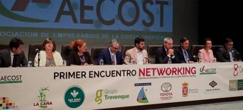 El pte. de AECOST, Luis Martín Aguado, satisfecho con la participación en el 'I Encuentro Networking de la Costa Tropical'