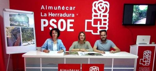 En el PSOE sexitano lamentan el mal estado de los espacios públicos del municipio