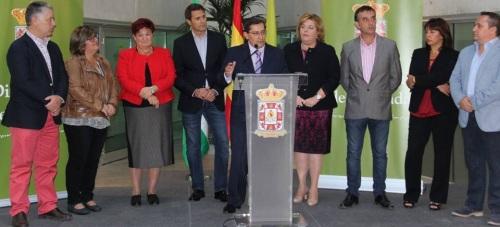 Entrena: 'Estamos recuperando el liderazgo de la Diputación como institución representativa de la provincia'