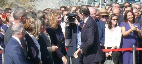 Flor Almón traslada a Mariano Rajoy la necesidad de incluir en los Presupuestos las canalizaciones de la presa de Rules