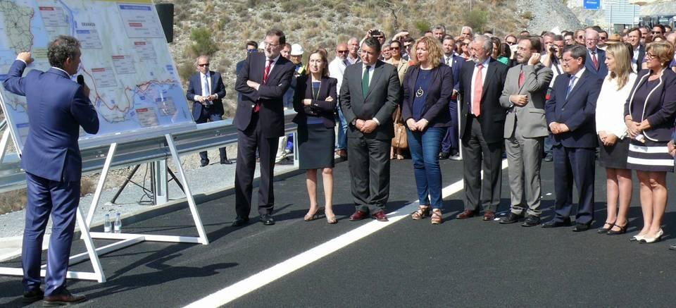 Fomento finaliza la Autovía A-7 del Mediterráneo con la puesta en servicio del tramo Carchuna-Castell de Ferro