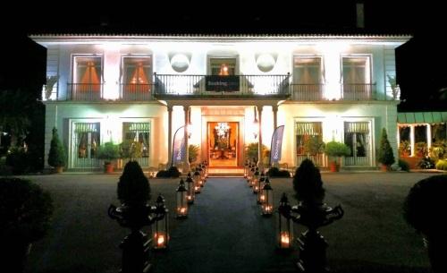Huerta del Sello, casa de estilo neoclásico, en la vega de Granada