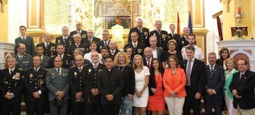 La Policía Nacional celebra el día de los Santos Ángeles Custodios reconociendo el trabajo de los agentes