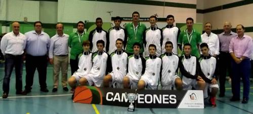 La selección de Málaga gana el campeonato de balocesto celebrado en Almuñécar