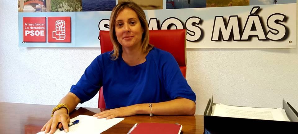 Mª Manzano Martín, concejal socialista en el Ayuntamiento de Almuñécar