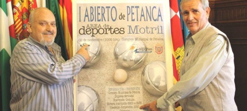 Motril organiza este lunes el 'I Abierto de Petanca'