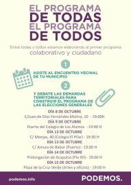 Asambleas de Podemos en Motril
