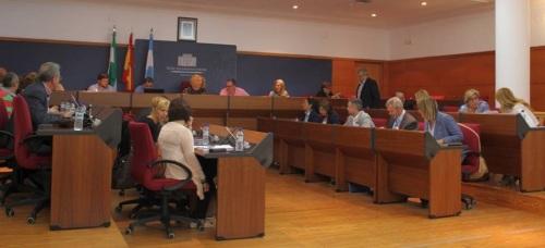 Pleno del Ayuntamiento de Motril 13-10-2015