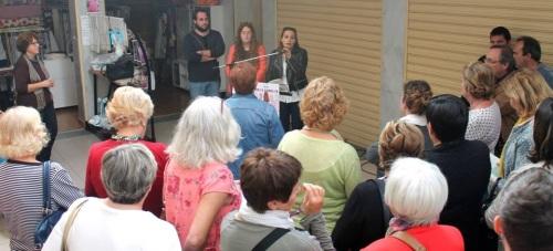 Ayuntamiento, asociaciones y vecinos realizan una lectura continuada contra la violencia machista
