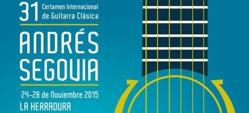Catorce guitarristas de once países se han inscrito en el XXXI Certamen Internacional de Guitarra Clásica Andrés Segovia de La Herradura