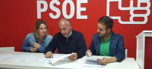 Concejales del PSOE en el Ayuntamiento de Almuñécar