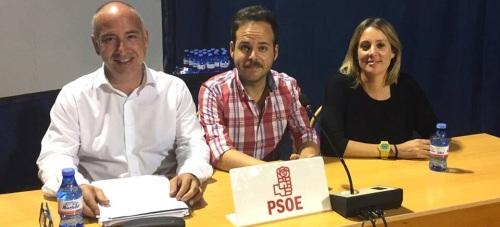 Concejales socialistas en el Ayuntamiento de Almuñécar