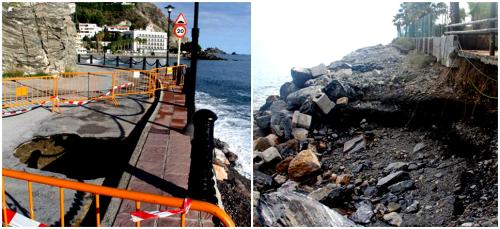 El Ayto. de Almuñécar evaluará los daños provocados por el temporal