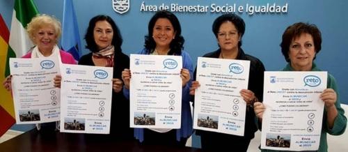 El Ayuntamiento de Almuñécar con la campaña 'Reto Unicef 2015'