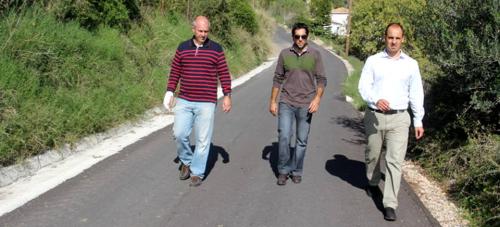 El Ayuntamiento de Almuñécar recepciona las obras de acondicionamiento y mejora del camino Almenara con Loma del Gato