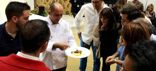 Miguel A. Castilla, chef del restaurante Reina Sofía de Almuñécar, en Granada Gourmet