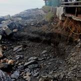 El concejal de Medio Ambiente y Playas de Almuñécar visita las zonas afectadas por el temporal junto a técnicos municipales