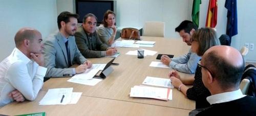 El delegado territorial de Economía, Innovación, Ciencia y Empleo de la Junta de Andalucía, Juan José Martín Arcos