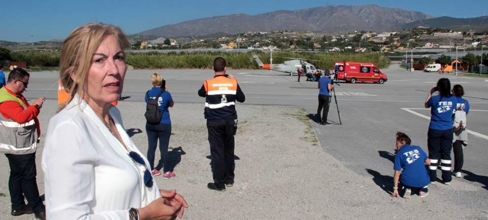 El simulacro de salvamento aéreo y rescate 'MADRISAR 15' eligió Motril como base de operaciones