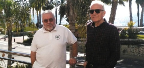 Foto. Rafael Lamelas (izq.) con Paco Rubio (dcha.)2