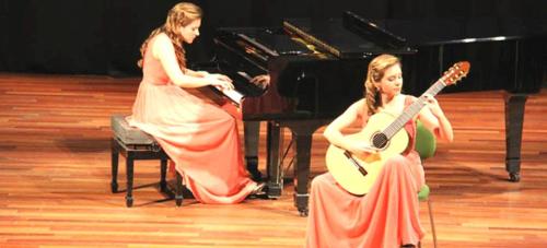 Gran concierto de la guitarrista Mabel Millán en Almuñécar