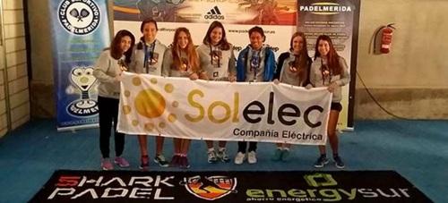 Helga García Ortuño subcampeona de España por equipos de menores