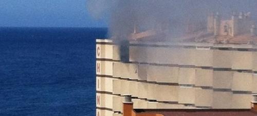 Incendio de un apartamento en Chinasol de Almuñécar