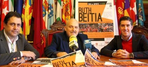 La atleta Ruth Beitia dará una clase magistral en Motril