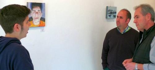 La Casa Condesa acoge la exposición 'PORTraits', de los motrileños José Luis Lozano y Jesús Jiménez