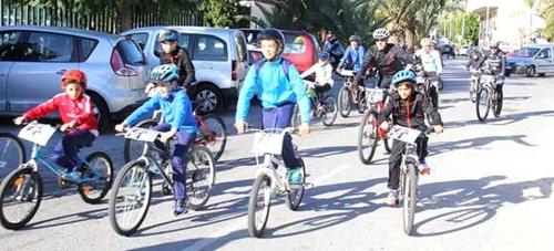 La I Salida Cicloturista MTB Solidaria contó con la participación de 65 ciclistas