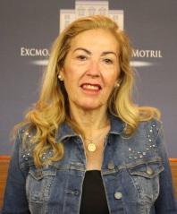 La teniente de alcalde María Ángeles Escámez