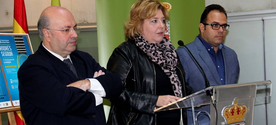 "Los mejores guitarristas del panorama internacional se dan cita en el Certamen de Guitarra Clásica ""Andrés Segovia"""