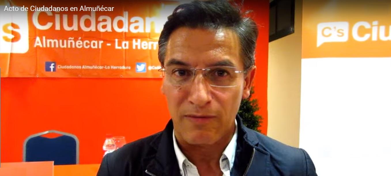 Luis Salvador, cabeza de lista de Ciudadanos por Granada al Congreso de los Diputados