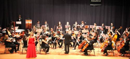 Magnífico concierto de la Joven Orquesta Sur de España