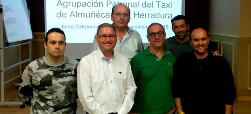 Marcos Corral Ruiz elegido nuevo presidente de la Agrupación Patronal del Taxi de Almuñécar