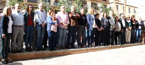 Motril muestra su solidaridad con las víctimas de los atentados