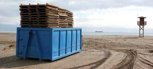 Motril: Pasarelas retiradas de la playa